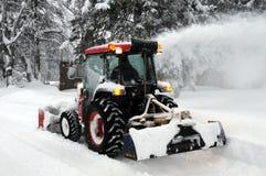 Ventilador de nieve Imagenes de archivo