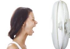 Ventilador de refrigeração Imagem de Stock Royalty Free