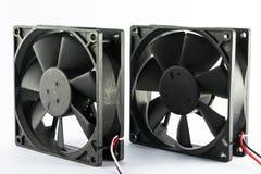 Ventilador de refrigeração do computador fotografia de stock royalty free