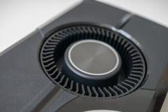 Ventilador de refrigeração do refrigerador do ventilador do videocard fotografia de stock royalty free