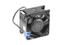 Ventilador de refrigeração plástico preto Fotos de Stock Royalty Free