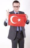 Ventilador de Turquia Imagem de Stock Royalty Free