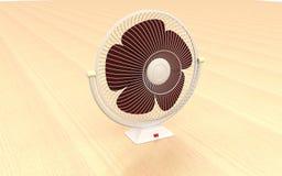 ventilador de vector 3d Fotografía de archivo libre de regalías