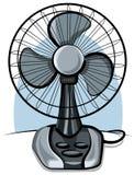 Ventilador de ventilador da tabela Imagem de Stock Royalty Free