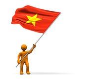 Ventilador de Vietnam Foto de Stock Royalty Free