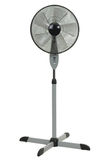 Ventilador do assoalho no fundo branco Fotografia de Stock Royalty Free