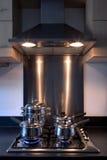 Ventilador do hob e do extrator do gás. Fotografia de Stock Royalty Free