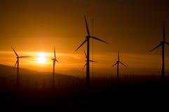 Ventilador do vento Fotografia de Stock Royalty Free