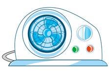 Ventilador e condicionador Imagens de Stock