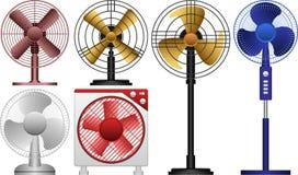 Ventilador eléctrico Fotografía de archivo libre de regalías