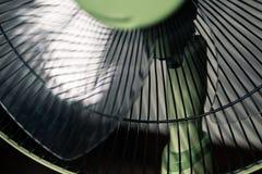 Ventilador elétrico verde fotos de stock royalty free