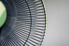 Ventilador elétrico verde imagens de stock royalty free