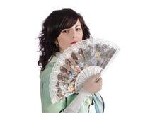 Ventilador espanhol Foto de Stock Royalty Free