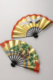 Ventilador japonés Imagen de archivo libre de regalías