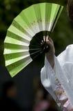 Ventilador japonés Foto de archivo libre de regalías