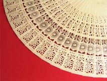 ventilador japonés tallado Imagen de archivo libre de regalías