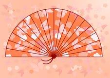 Ventilador japonés tradicional Imagen de archivo