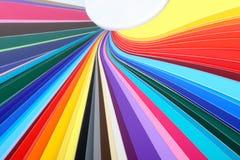 Ventilador multicolor 01 Imágenes de archivo libres de regalías
