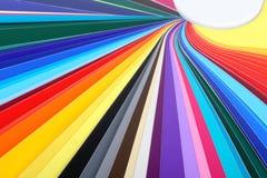 Ventilador multicolor 02 Fotografía de archivo
