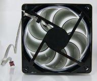 Ventilador negro Foto de archivo libre de regalías