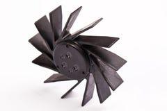 Ventilador negro de Laptp Imagenes de archivo