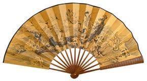Ventilador plegable chino Fotografía de archivo
