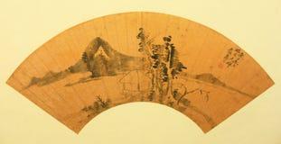 Ventilador plegable tradicional chino Fotografía de archivo libre de regalías