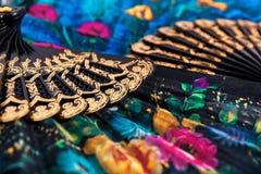 Ventiladores coloridos Fotografía de archivo libre de regalías
