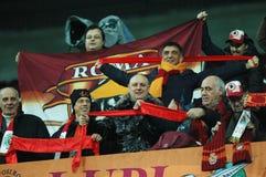 Ventiladores COMO de Roma em um fósforo Imagens de Stock Royalty Free