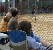 Ventiladores de basebol Fotos de Stock