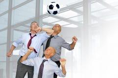 Ventiladores de fútbol Foto de archivo libre de regalías
