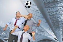 Ventiladores de fútbol Fotos de archivo