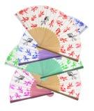 Ventiladores de papel Imagen de archivo libre de regalías