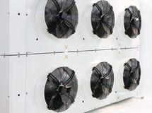 Ventiladores de refrigeração industriais Foto de Stock Royalty Free
