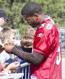 Ventiladores del campo de entrenamiento de los cardenales del NFL Arizona Imagen de archivo libre de regalías