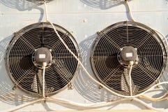 Ventiladores do condicionador Foto de Stock Royalty Free
