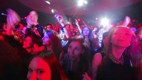 Ventiladores en el concierto metrajes