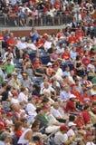 Ventiladores en un juego de béisbol Fotografía de archivo