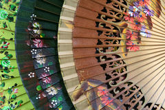 Ventiladores espanhóis imagens de stock