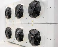 Ventiladores industriales fotos de archivo