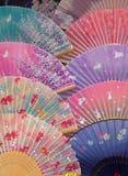 Ventiladores japoneses Imagen de archivo