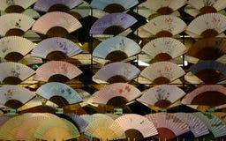 Ventiladores japoneses Imagem de Stock Royalty Free