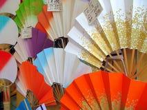 Ventiladores japoneses Imagem de Stock