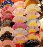 Ventiladores japoneses Foto de Stock Royalty Free