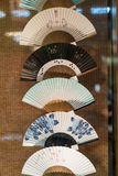 Ventiladores japoneses Fotografía de archivo