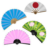 Ventiladores japoneses libre illustration
