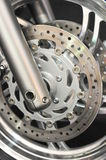 Brake disc details Stock Photography