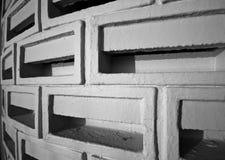 Ventilated Brick Wall Stock Photography