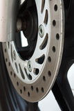 Ventilated disc brake Royalty Free Stock Images