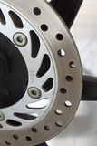 Ventilated disc brake Royalty Free Stock Photo